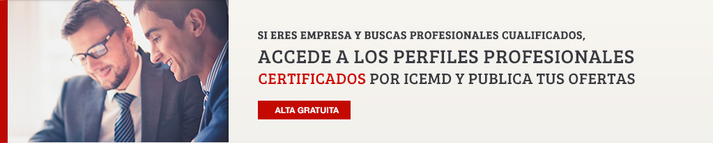 Accede a perfiles profesionales