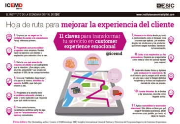 Hoja de ruta para mejorar la experiencia de cliente