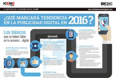 ¿Qué marcará tendencia en la publicidad digital en 2016?