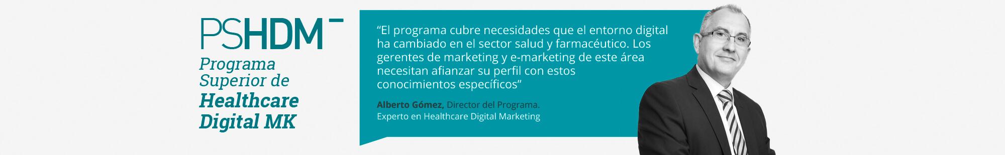 Programa Superior en Healthcare Digital Marketing - Director