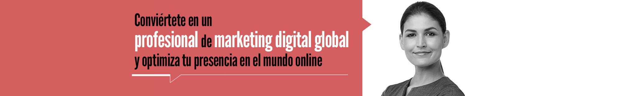 Máster Online en Competencias de la Economía Digital con especialidad en Marketing Digital