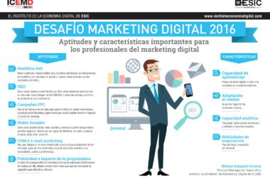 Desafios marketing digital 2016