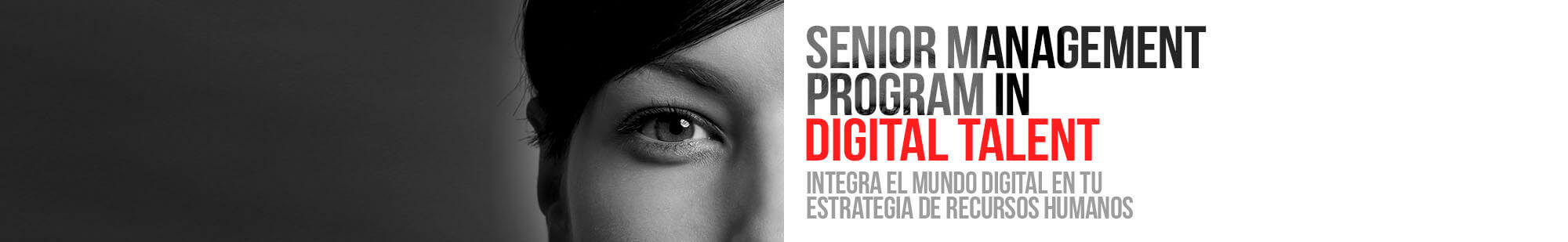 Senior Management Program in Digital Talent