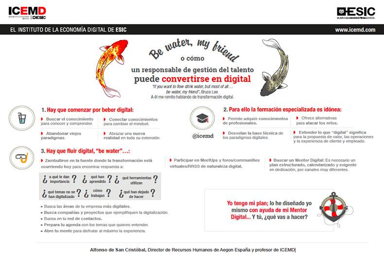 Cómo un responsable de gestión del talento puede convertirse en digital - Alfonso de San Cristóbal