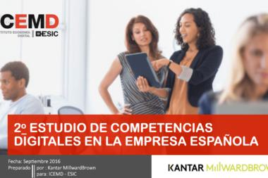 estudio competencias digitales