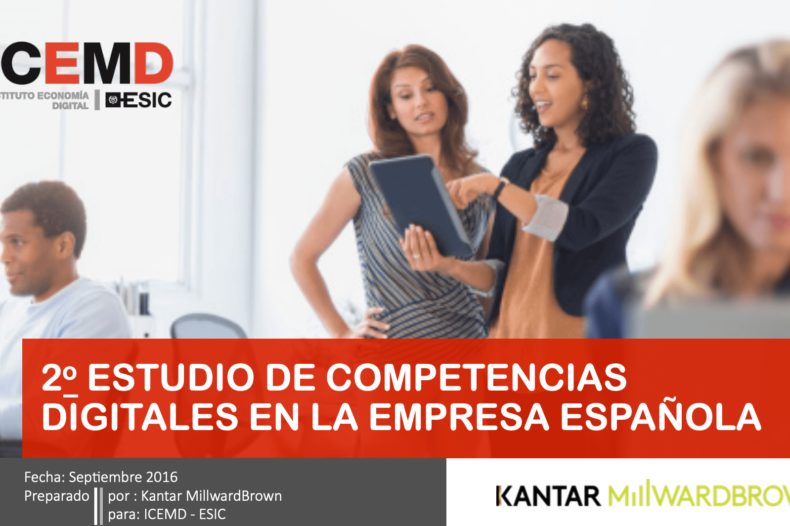 estudio competencias digitales