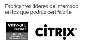 Fabricantes MVWare y Citrix