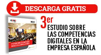 3er Estudio Competencias Digitales en la Empresa Española