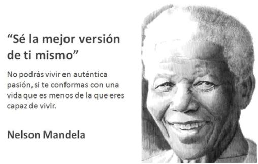 Nelson Mandela frase
