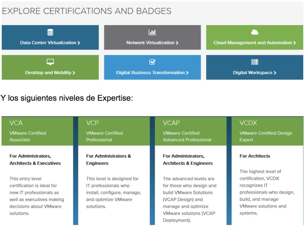 certificacion vmware