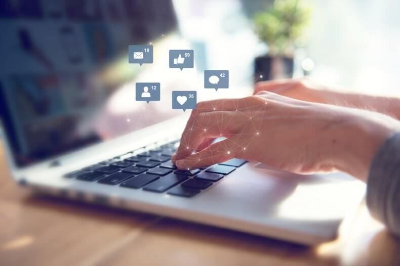 redes sociales en las empresas